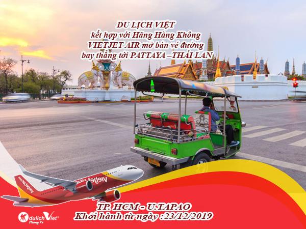 Bay thẳng Pattaya Thái Lan - Chạm mây núi trời biển bao la