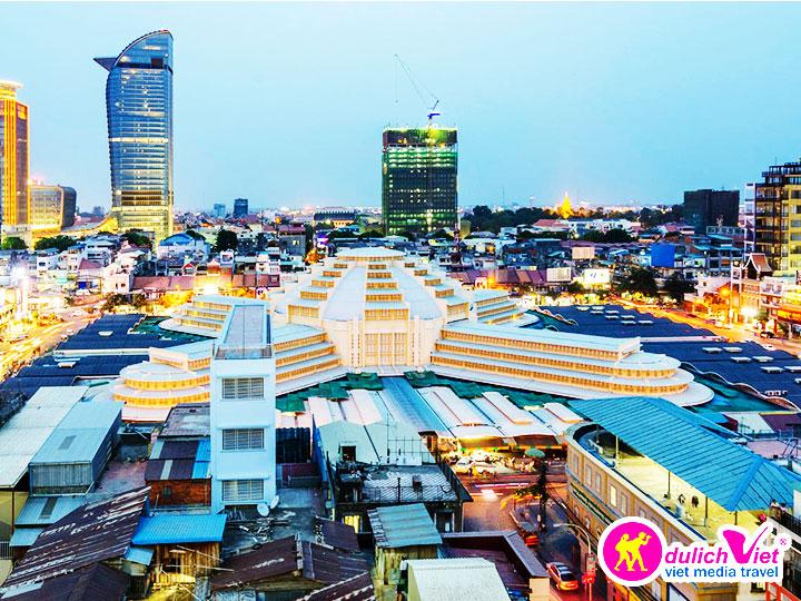 Du lịch Campuchia 4 ngày 3 đêm  khởi hành từ Sài Gòn giá tốt 2017