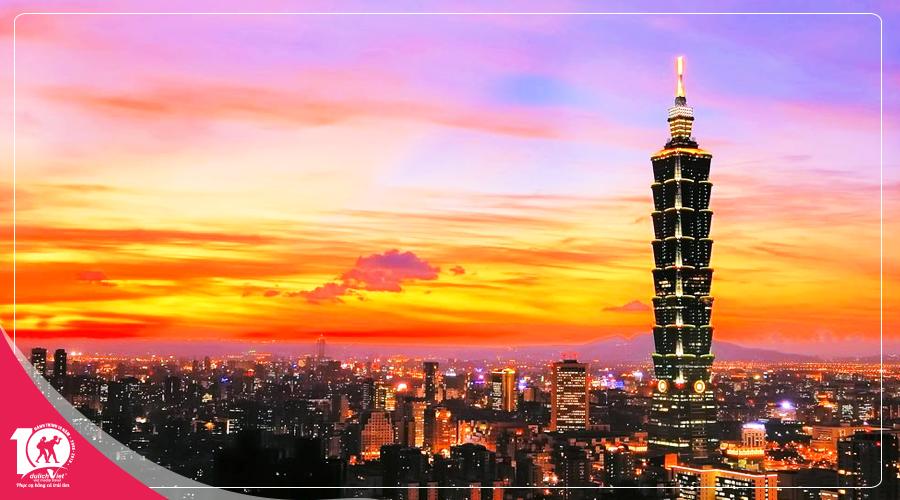 Du lịch Đài Loan mùa Thu khởi hành từ Sài Gòn giá tốt 2018