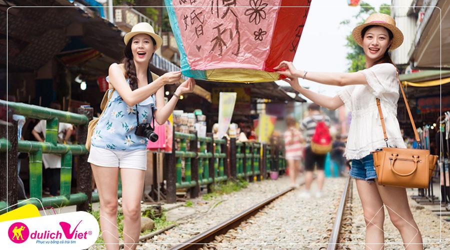 Du lịch Đài Loan mùa Thu Đài Bắc - Nam Đầu - Đài Trung - Cao Hùng từ Sài Gòn giá tốt