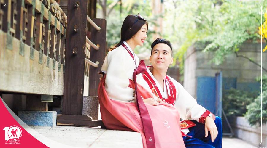 Tour du lịch Hàn Quốc mùa Thu khởi hành từ Sài Gòn giá tốt 2018
