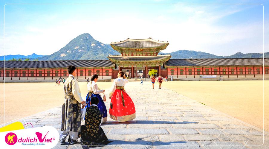 Du lịch Hàn Quốc Hè 4 ngày 4 đêm khởi hành từ TPHCM giá tốt 2019