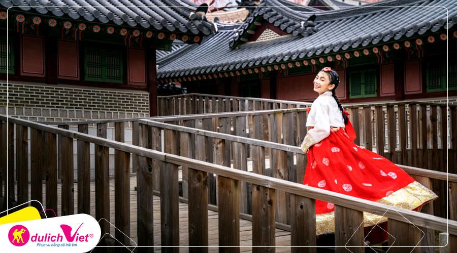 Tour du lịch Hàn Quốc Hè 6 ngày từ TpHCM giá tốt 2019