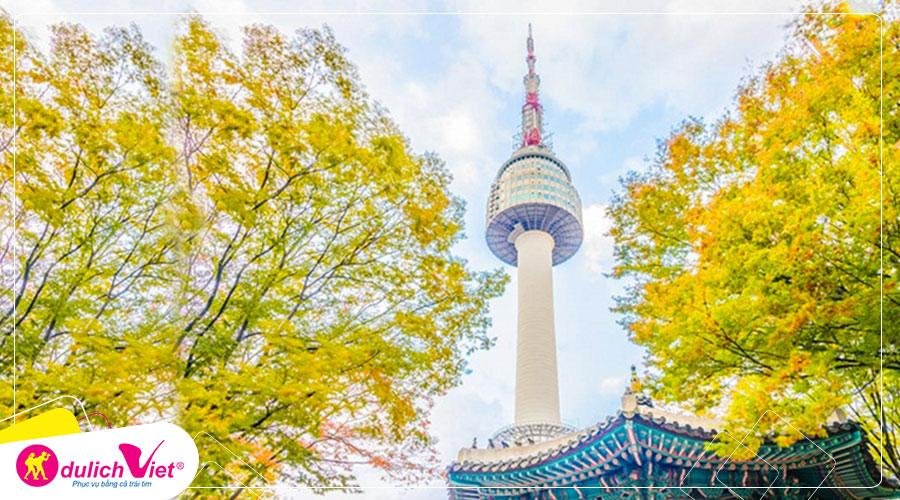 Du lịch Hàn Quốc mùa Thu 4 ngày từ Sài Gòn giá tốt 2019