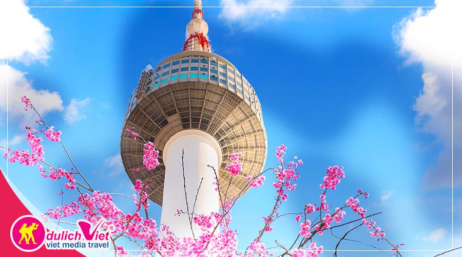 Du lịch Hàn Quốc mùa hoa anh đào giá tốt từ Sài Gòn (T4/2019)