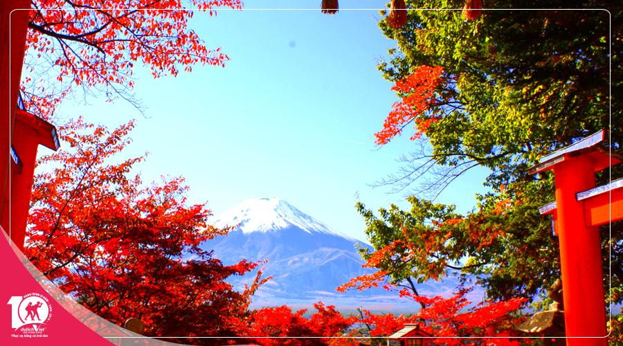 Du lịch Nhật Bản mùa thu bay Vietnam Airlines từ Sài Gòn giá tốt