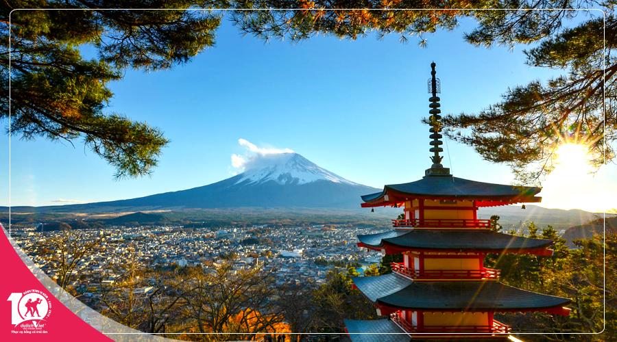 Du lịch Nhật Bản mùa thu khởi hành từ Sài Gòn giá tốt 2018
