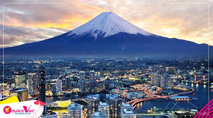 Du lịch Nhật Bản Nagoya - Kawaguchico - Fuji - Tokyo mùa Hè 2019