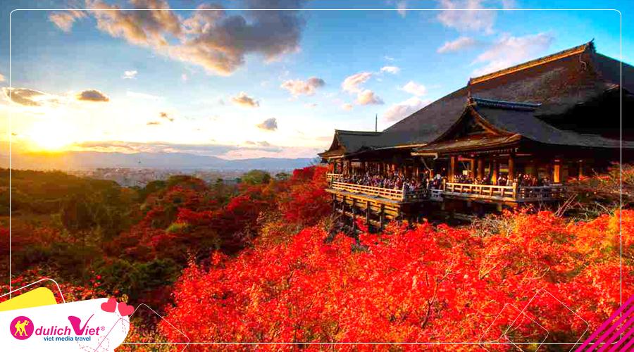 Du lịch Nhật Bản mùa Thu - Osaka - Kobe - Kyoto - Kansai từ TPHCM