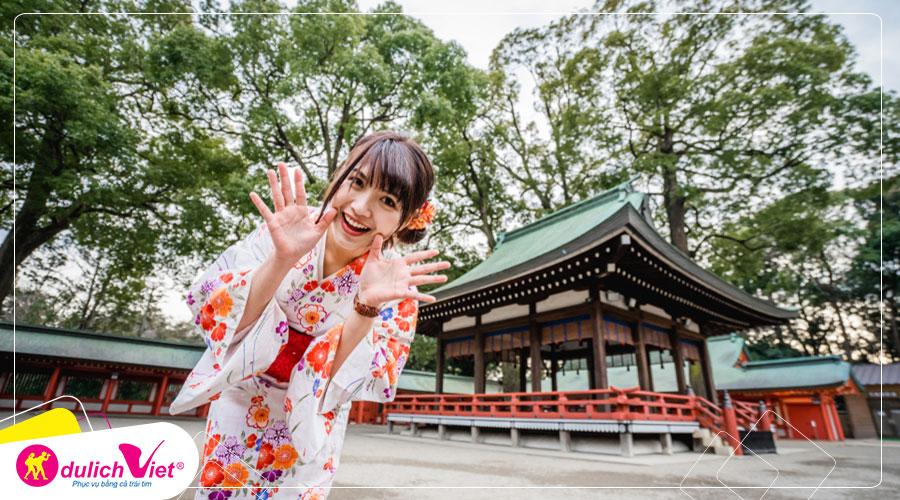 Du lịch Nhật Bản dịp Hè - Tokyo - Yokohama - Hakone - Fuji - Chiba - Odaiba từ Sài Gòn