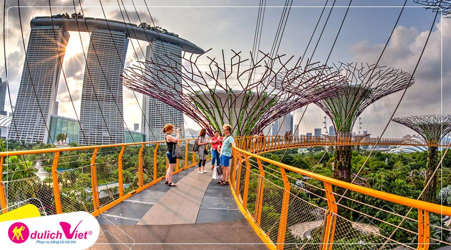 Du lịch Châu Á - Tour Singapore - Malaysia dịp Lễ 2/9 từ Sài Gòn 2019