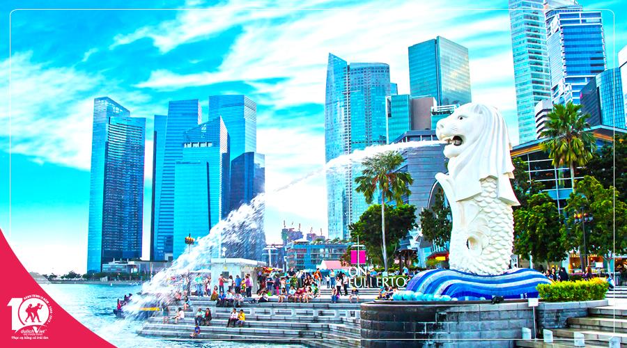 Du lịch Châu Á - Tour Sing - Mal - Indo khởi hành từ TP.HCM giá tốt 2018