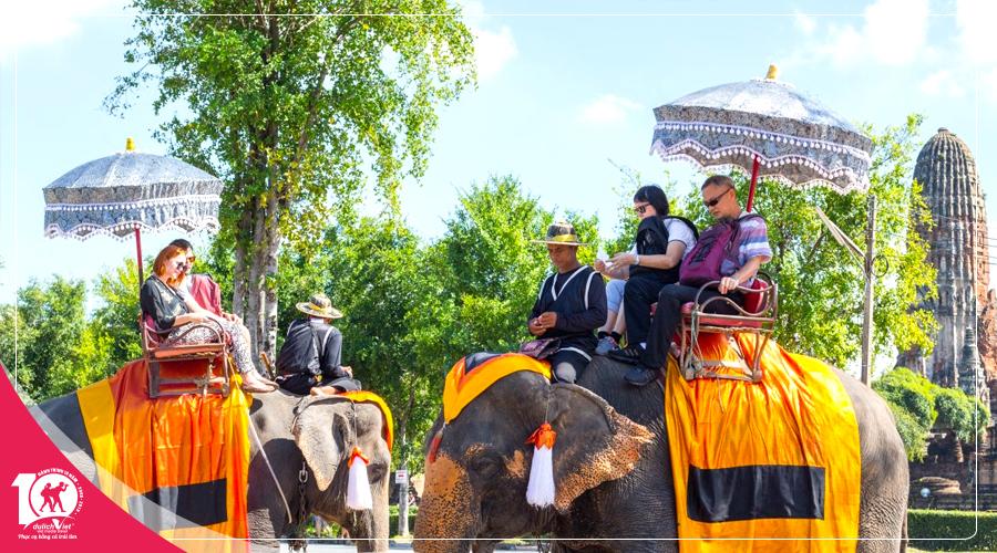 Tour Thái Lan Bangkok - Pattaya mùa thu khởi hành từ Sài Gòn giá tốt 2018