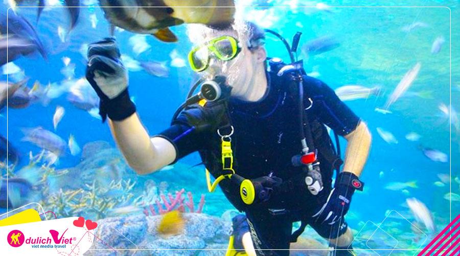 Du lịch Thái Lan Hè Bangkok - Pattaya tham quan thủy cung Pattaya từ Sài Gòn giá tốt
