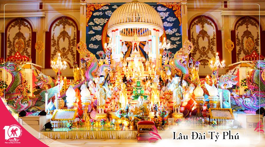 Tour Du lịch Thái Lan 4 ngày Bangkok - Pattaya từ Sài Gòn giá tốt 2019