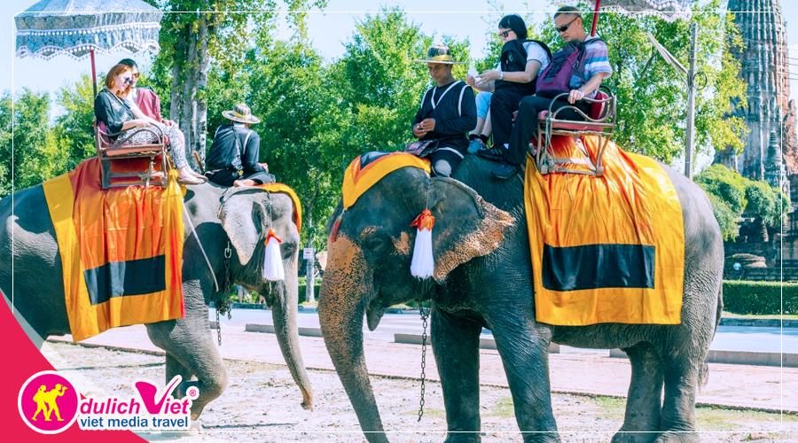 Tour Thái Lan Bangkok - Pattaya dịp Hè khởi hành từ Sài Gòn giá tốt 2019