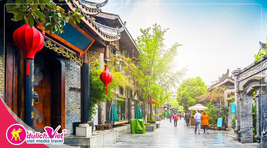 Du lịch Trung Quốc hè 2019 - Tùng Bình Câu - Lạc Sơn - Thành Đô từ Sài Gòn