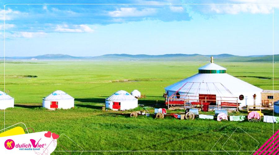 Du lịch Mông Cổ mùa Thu theo vó ngựa thành cát tư hãn từ Sài Gòn giá tốt