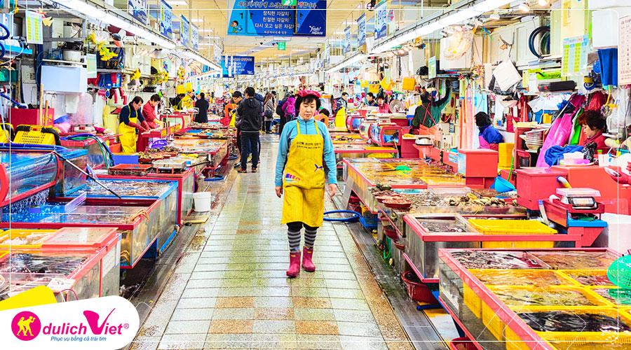 Du lịch Châu Á - Du lịch Trung Quốc - Hàn Quốc từ Sài Gòn giá tốt 2019