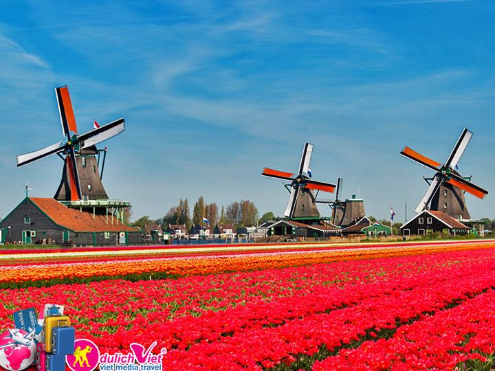 Du lịch Châu Âu - Pháp - Bỉ - Hà Lan dịp Lễ 30/4 từ Sài Gòn giá tốt 2018