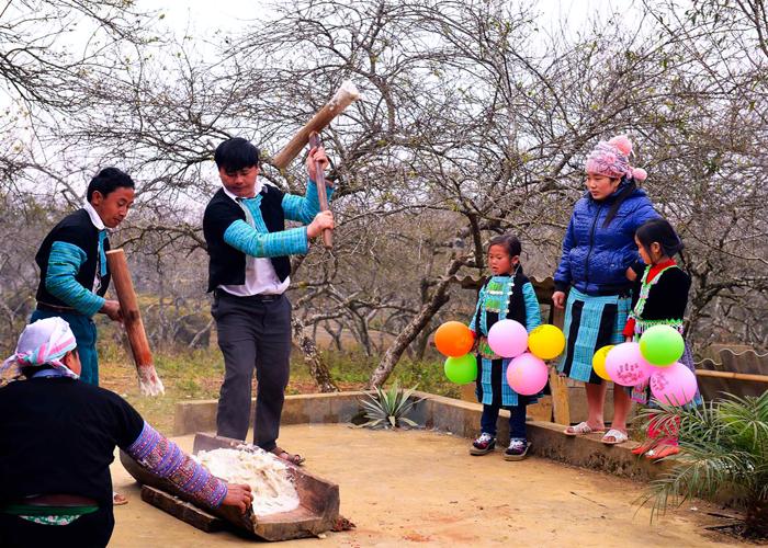 Độc đáo phong tục đón tết của dân tộc H'Mông ở Hà Giang