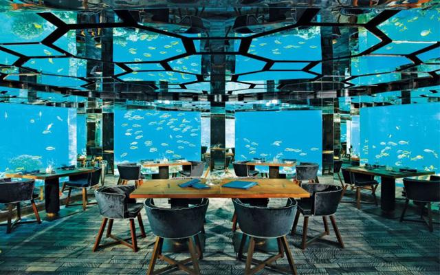 Kết cấu của nhà hàng dưới biển đầu tiên trên thế giới