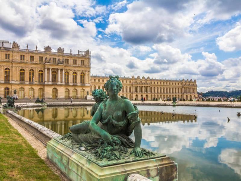 Mùa thu trong công viên Versailles
