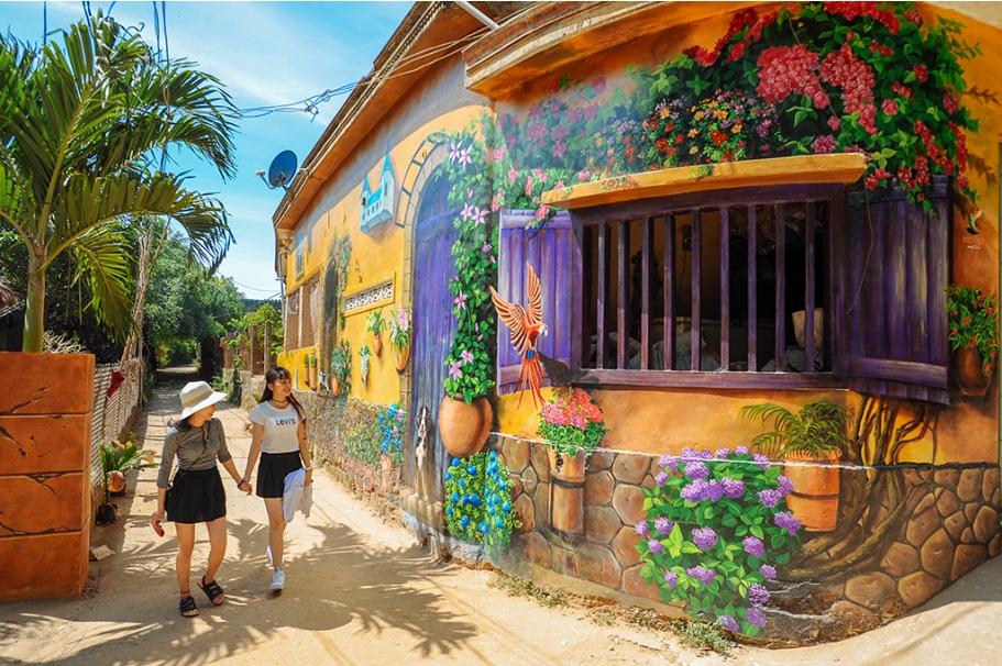 """5 điểm check-in """"siêu đẹp"""" tại Đà Nẵng mà các tín đồ du lịch cần biết Lang-bich-hoa-da-nang"""