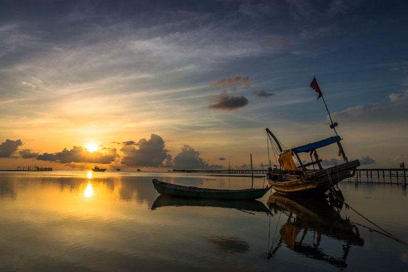 Làng chài Hàm Ninh - du lịch mùa thu Phú Quốc