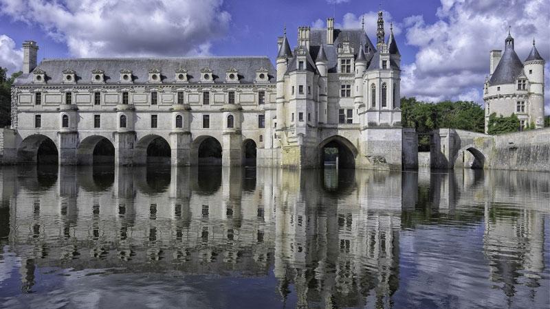 Lâu đài Chenonceau xứ Loire