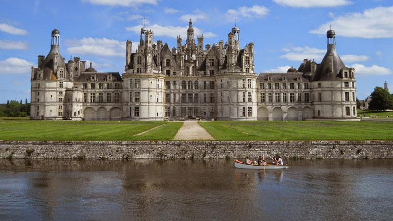 Lâu đài Chambord tuyệt đẹp