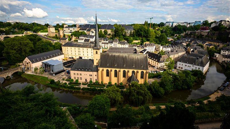 Luxembourg sở hữu các công trình kiến trúc độc đáo