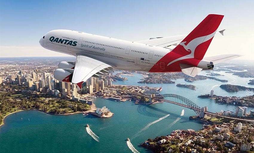 Máy bay phương tiện duy nhất du lịch Úc