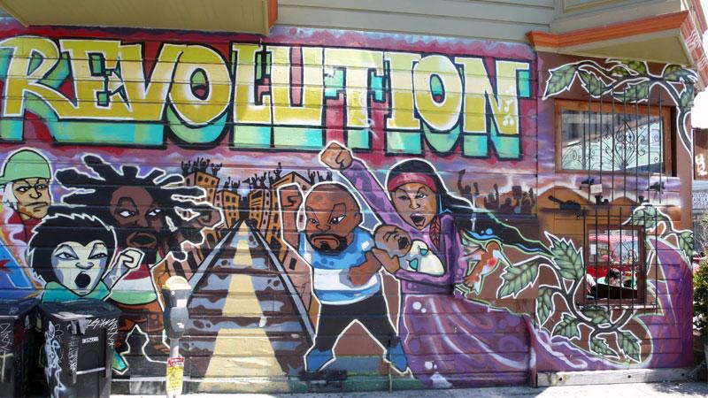 Nghệ thuật đường phố nổi loạn ở New York