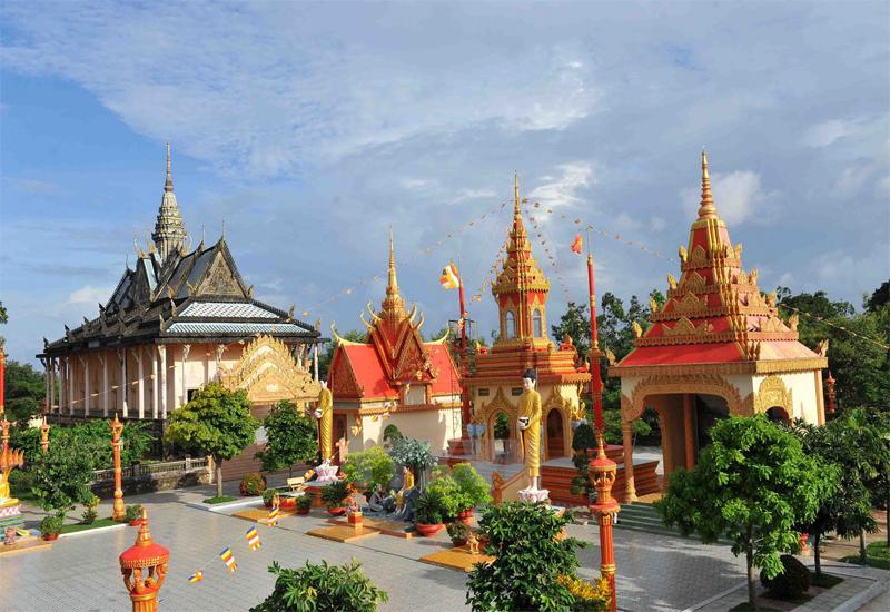 ngôi chùa ở miền tây