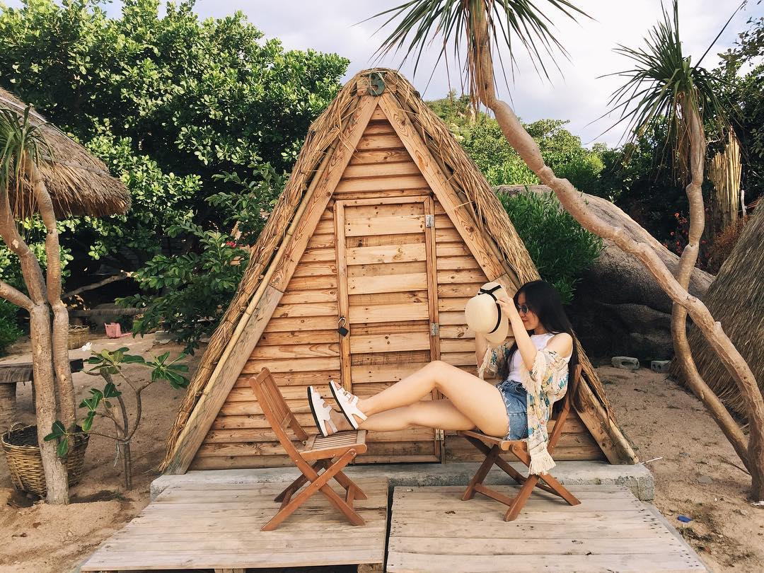 Lều gỗ du mục