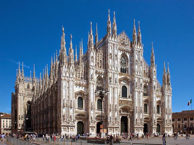 Du lịch Châu Âu - Nước Ý với nhà thờ Duomo