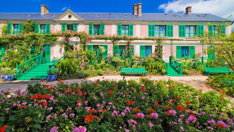 Những vườn hoa thơ mộng tại Giverny