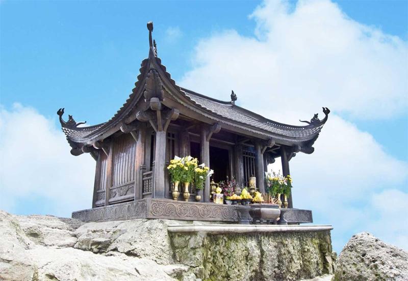Chùa Yên Tử là điểm đến được nhiều du khách ghé thăm khi đến với núi Yên Tử