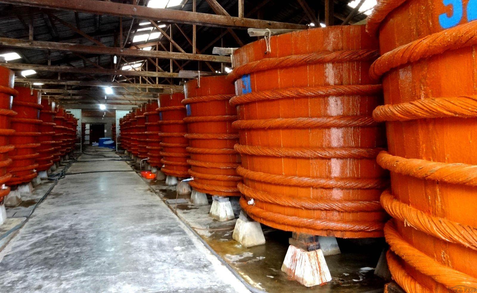 Nhà thùng sản xuất nước mắm Phú Quốc