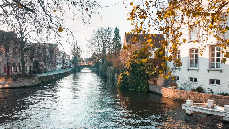 Nước Bỉ thật đẹp khi vào thu