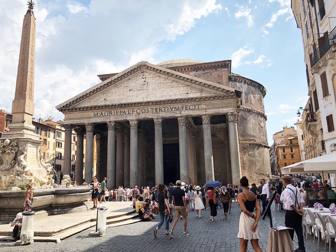 Du lịch Ý -Đền Pantheon