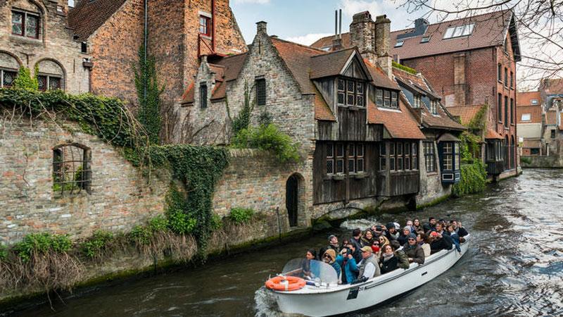 Phố cổ Bruges