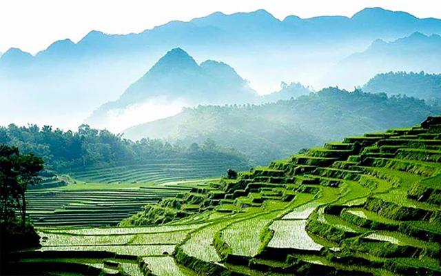 Phong cảnh tuyệt đẹp chỉ có ở Pù Luông