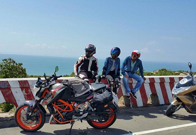 Đi du lịch Nam Du tự túc bằng xe máy