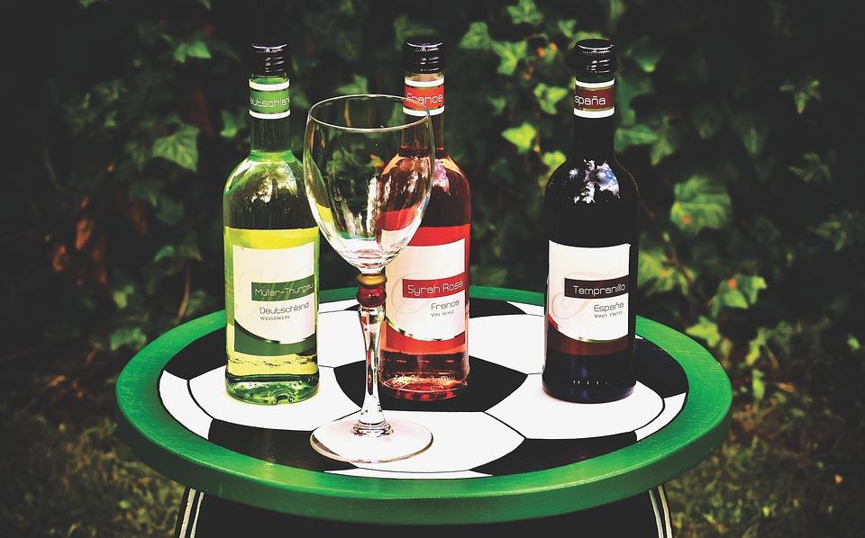 Rượu vang không thể thiếu ở các nhà hàng nước Đức