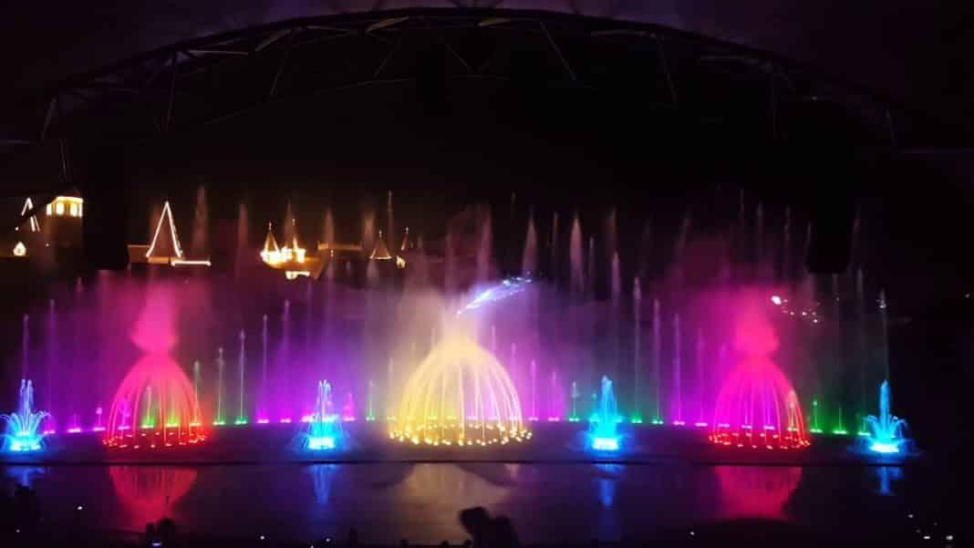 Sân khấu nhạc nước Vinpearl Land Nha Trang