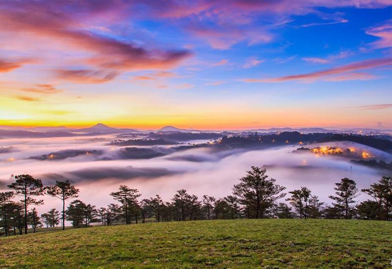 thành phố sương mù đà lạt