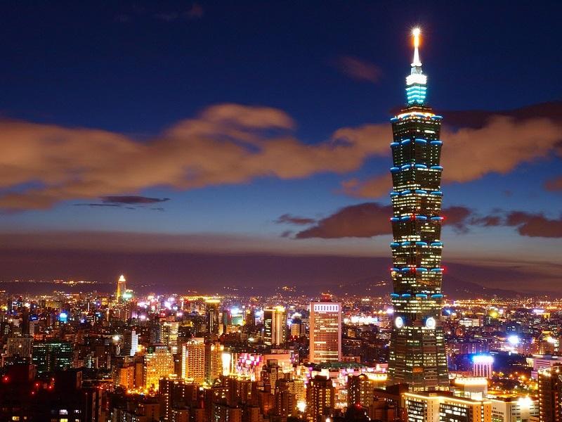 Tháp Taipei101 - Du lịch Đài Loan