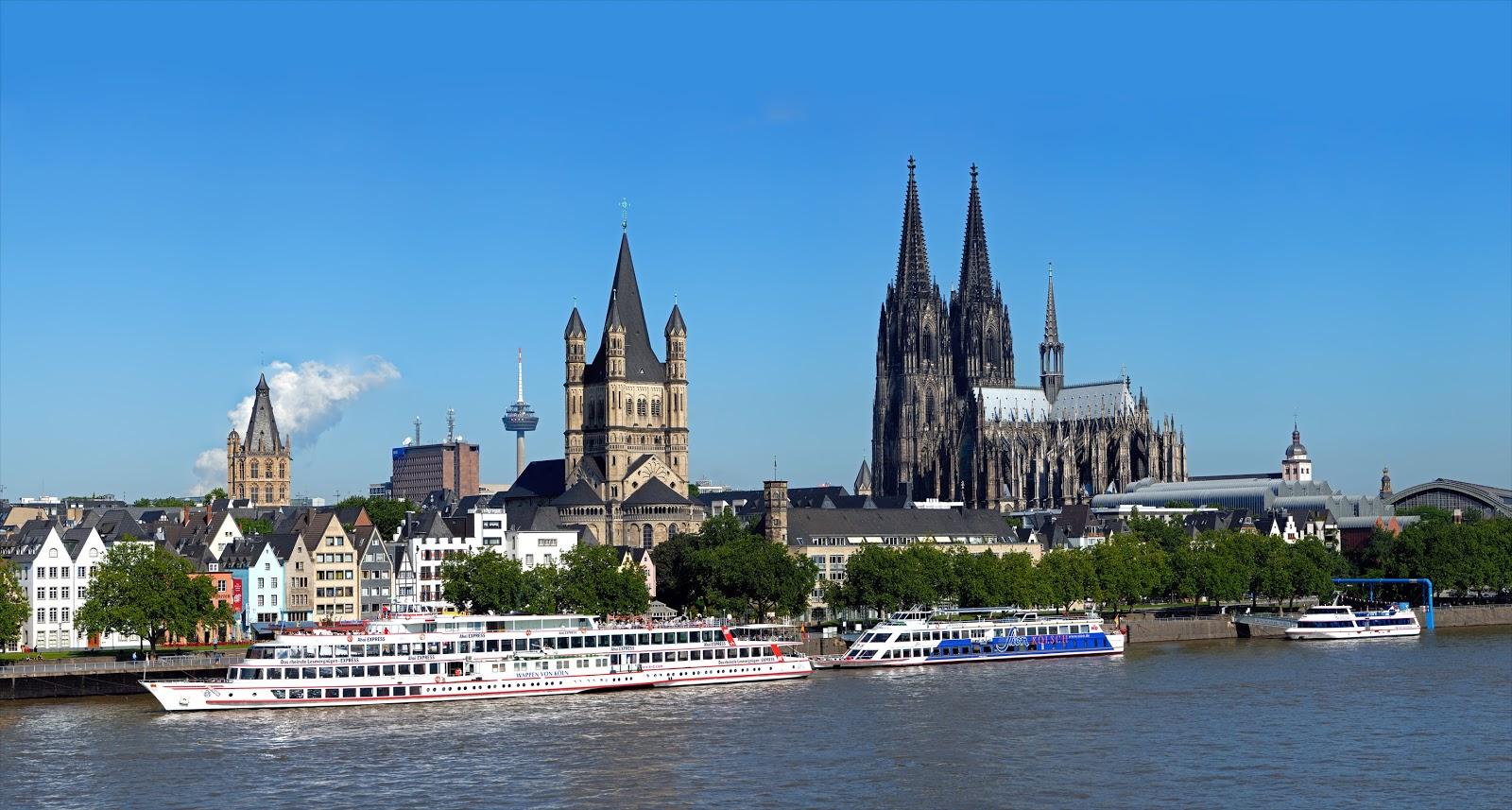 Du lịch Châu Âu - Cologne là trung tâm giao thương và kinh tế quan trọng bậc nhất miền Tây nước Đức